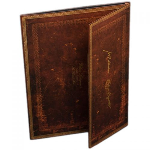 Paperblanks Shakespeare's 400th Anniversary A4 Document Folder.