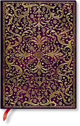 Paperblanks Aurelia Royal Purple Midi LINED (NEW)