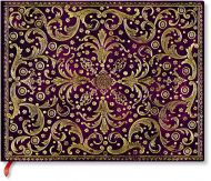 Paperblanks Aurelia Royal Purple Guest Book UNLINED (NEW)