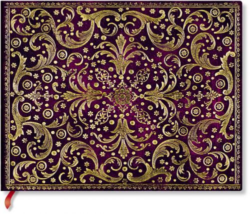 Paperblanks Aurelia Royal Purple Guest Book UNLINED