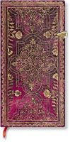 Paperblanks Fall Filigree Amaranth Slim LINED.