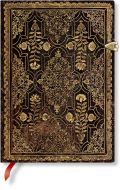 Paperblanks Fall Filigree Mahogany Midi