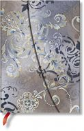 Paperblanks Belle Epoque Gossamer Grey Midi UNLINED (NEW).