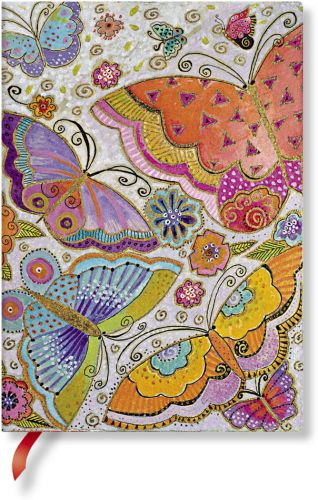 Paperblanks Flexis Flutterbyes Midi 176pp SOFTCOVER