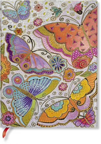 Paperblanks Flexis Flutterbyes Ultra 240pp SOFTCOVER LINED