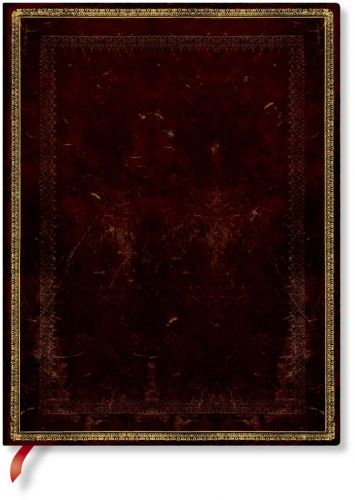 Paperblanks Flexis Black Moroccan Ultra 176pp SOFTCOVER