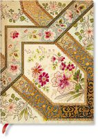 Paperblanks Flexis Filigree Floral Ivory Ultra 240pp SOFTCOVER LINED