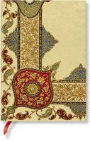 Paperblanks Flexis Visions of Paisley Ivory Kraft Midi 240pp SOFTCOVER LINED
