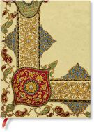 Paperblanks Flexis Visions of Paisley Ivory Kraft Ultra 176pp SOFTCOVER (NEW)