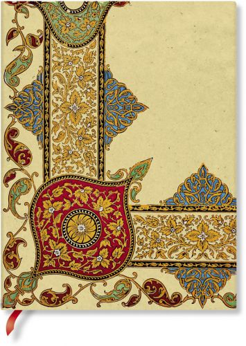 Paperblanks Flexis Visions of Paisley Ivory Kraft Ultra 176pp SOFTCOVER