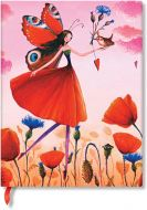 Paperblanks 5-Year Snapshot Journal Poppy Field Ultra (NEW) (PRE-ORDER)