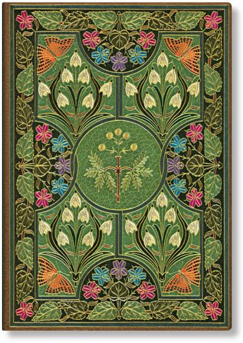Paperblanks Address Book - Poetry in Bloom Midi (NEW).