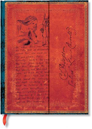 Paperblanks Lewis Carroll, Alice in Wonderland Ultra LINED