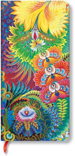 Paperblanks Olenas Garden - Dayspring Slim LINED (NEW).