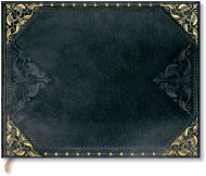 Paperblanks New Romantics - Midnight Rebel Guest Book UNLINED (NEW).