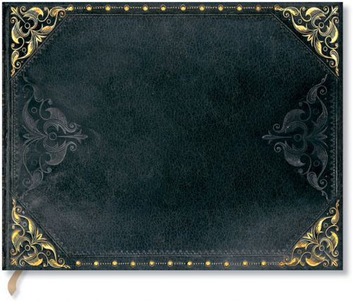 Paperblanks New Romantics - Midnight Rebel Guest Book UNLINED.