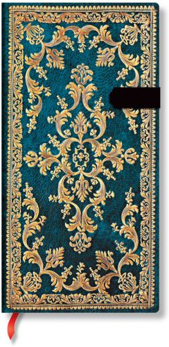 Paperblanks Jewel of Urbino - Metauro Slim LINED (NEW).