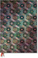 Paperblanks Sacred Tibetan Textiles - Chakra Grande LINED.