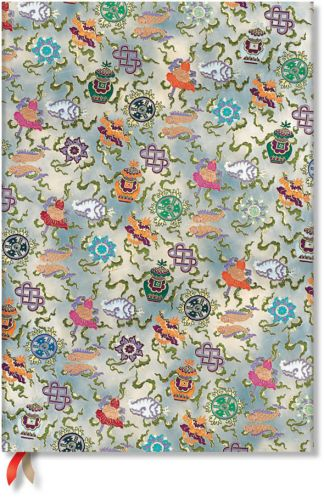 Paperblanks Sacred Tibetan Textiles - Shankha Grande LINED