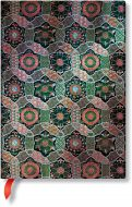 Paperblanks Sacred Tibetan Textiles - Chakra Midi LINED (NEW)