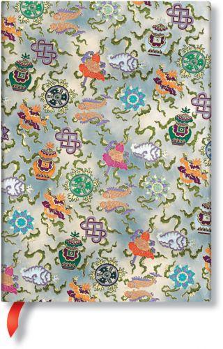 Paperblanks Sacred Tibetan Textiles - Shankha Midi LINED