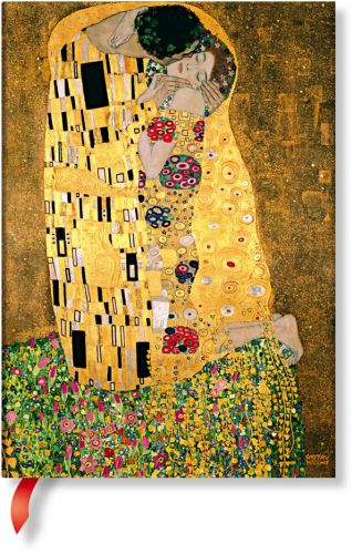 Paperblanks Klimt's 100th Anniversary - The Kiss Midi LINED (NEW)