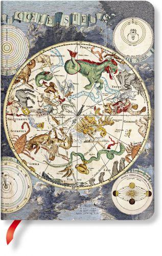 Paperblanks Celestial Planisphere Midi LINED.