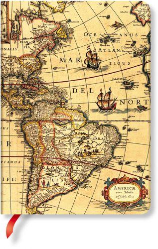 Paperblanks Western Hemisphere Midi UNLINED