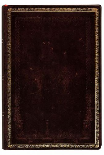 Paperblanks Flexis Black Moroccan Mini 176pp SOFTCOVER LINED