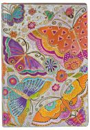 Paperblanks Flexis Flutterbyes Mini 176pp SOFTCOVER LINED (PRE-ORDER)