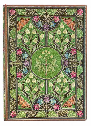 Paperblanks Flexis Poetry in Bloom Midi 176pp SOFTCOVER UNLINED