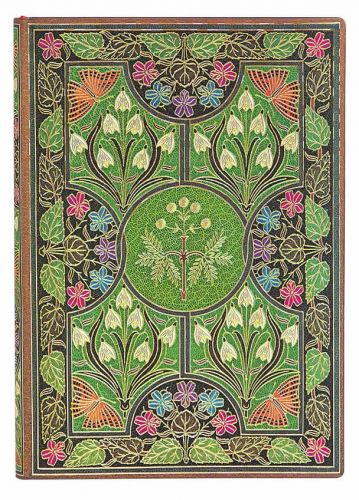 Paperblanks Flexis Poetry in Bloom Midi 240pp SOFTCOVER LINED