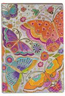 Paperblanks Flexis Flutterbyes Mini 240pp SOFTCOVER LINED (PRE-ORDER)