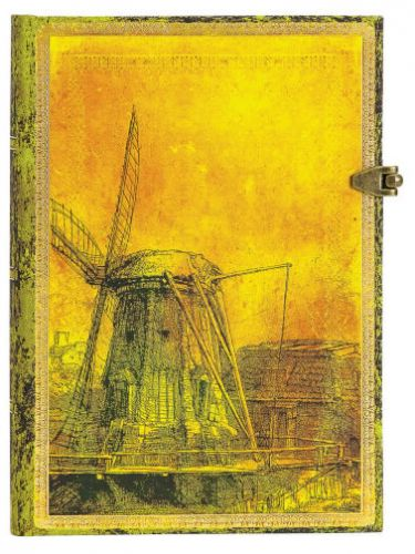 Paperblanks Rembrandt's 350th Anniversary Midi UNLINED (NEW).