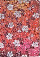 Paperblanks Katagami Florals - Sakura Midi UNLINED (NEW)