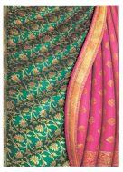 Paperblanks Varanasi Silks - Ferozi Midi UNLINED