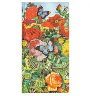 Paperblanks Nature Montages - Butterfly Garden Slim LINED (NEW).