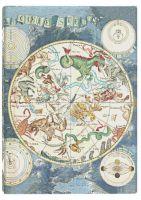 Paperblanks Flexis Celestial Planisphere Midi 176pp SOFTCOVER