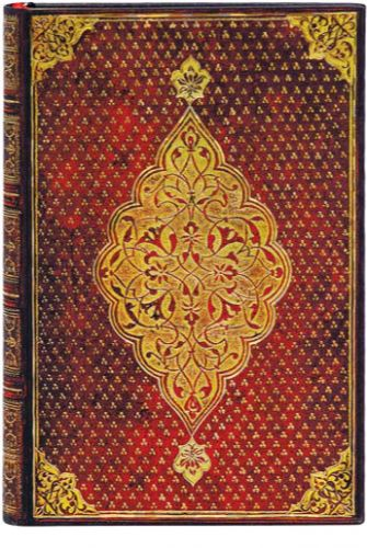 Paperblanks Golden Trefoil Mini (NEW)