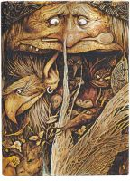 Paperblanks Brian Froud - Mischievous Creatures Midi (NEW).