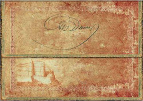 Paperblanks Dumas' 150th Anniversary A4 Document Folder (NEW)