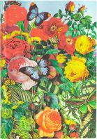 Paperblanks Flexis Butterfly Garden Mini 208pp SOFTCOVER LINED (NEW)