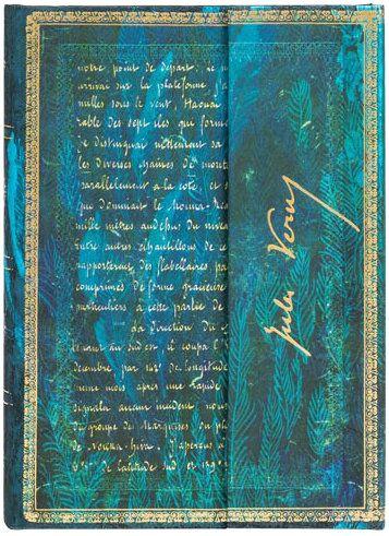 Paperblanks Verne, Twenty Thousand Leagues Midi UNLINED (NEW)