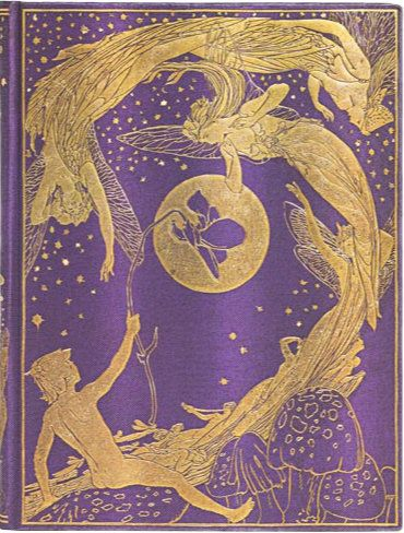 Paperblanks Violet Fairy Ultra UNLINED (NEW) (BO2L)