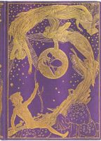 Paperblanks Violet Fairy Midi UNLINED (NEW) (BO1L)
