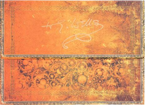 Paperblanks HG Wells 75th Anniversary A4 Document Folder (NEW)