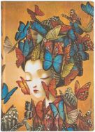Paperblanks Flexis Madame Butterfly Midi 176pp SOFTCOVER UNLINED (NEW)