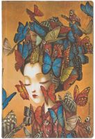 Paperblanks Flexis Madame Butterfly Mini 208pp SOFTCOVER LINED (NEW)