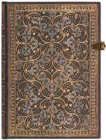Paperblanks Queen's Binding - Restoration Midi LINED (NEW).