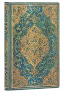 Paperblanks Address Book - Turquoise Chronicles Mini (NEW)